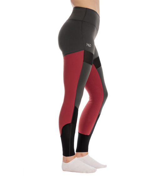 Fashion Riding Tights - Silicon