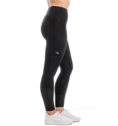 Riding Tights, black, side view
