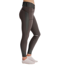 Hybrid Meryl Pull Up Breech - Gray, side view