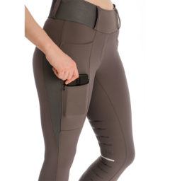 Hybrid Meryl Pull Up Breech - Gray