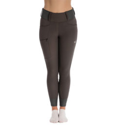 Hybrid Meryl Pull Up Breech - Gray, front view