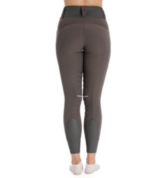 Hybrid Meryl Pull Up Breech - Gray, back view