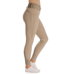 Hybrid Meryl Pull Up Breech - Taupe, side view
