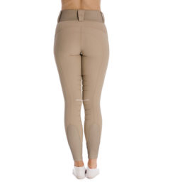 Hybrid Meryl Pull Up Breech - Taupe, back view
