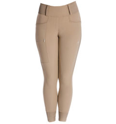 Hybrid Meryl Pull Up Breech - Taupe, front view