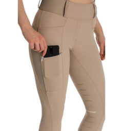 Hybrid Meryl Pull Up Breech - Taupe