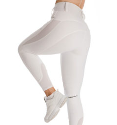 Hybrid Meryl Pull Up Breech - white