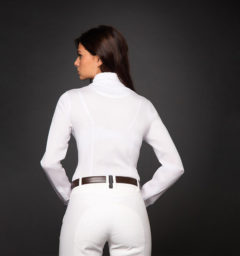 AA EvoSkin Technical Competition Shirt, White back view