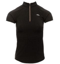 AA CleanCool Ladies Short Sleeve Top, black