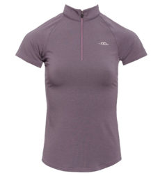 CleanCool Half Zip Top Short Sleeve
