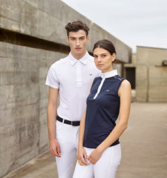 AA Men's CleanCool Competition Shirt and AA Ladies Monza Sleeveless Top