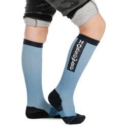Kid's Technical Sock - Blue Heaven
