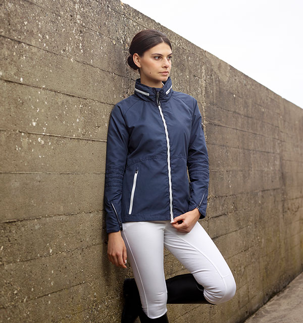 Bosa Short Jacket - Ombre Blue