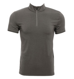 AA Clean Cool Half Zip Men's Short Sleeve Shirt front view