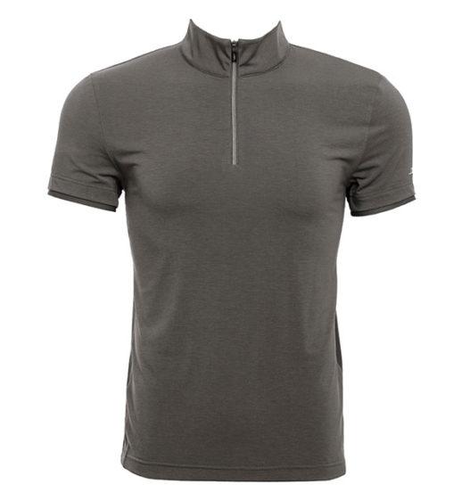 CleanCool Half Zip Men  Short Sleeve Top