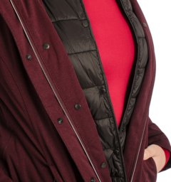 Technical 3 in 1 Jacket Front Detail Fig