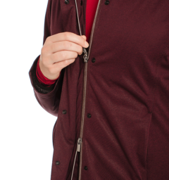 Technical 3 in 1 Jacket Front Zip Fig