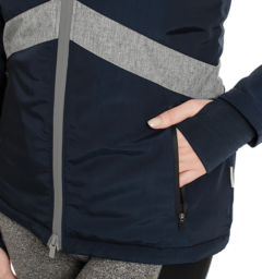 Technical Riding Jacket Pocket Detail Navy