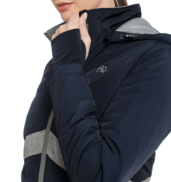 Technical Riding Jacket Side Detail Navy