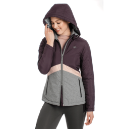 Technical Riding Jacket Front Hood Up Fig