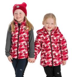 Kid horseprint jacket and vest