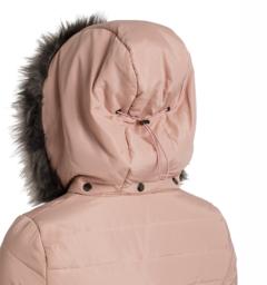 Alexa Padded Jacket Hood Detail