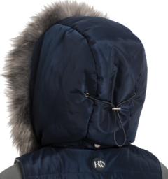 Aria Vest hood detail