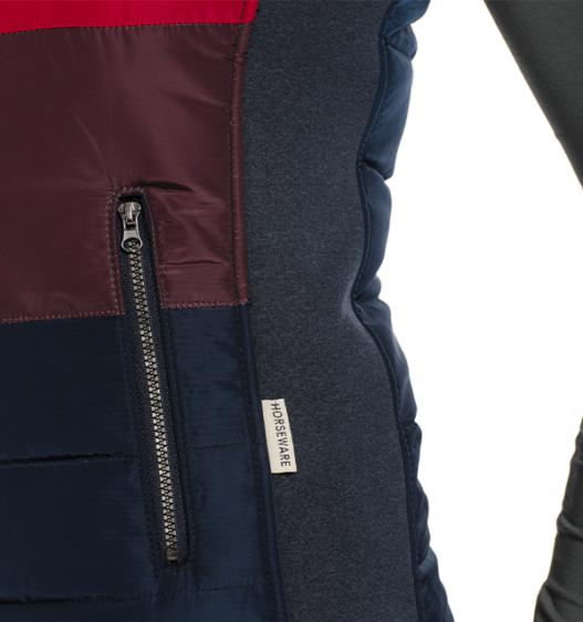 Aria Vest pocket detail