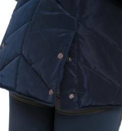 Long Line Vest back detail