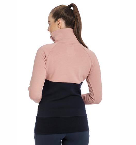 Nova High Neck Long Sleeve Pullover