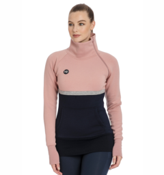 Nova High Neck Misty Rose Front