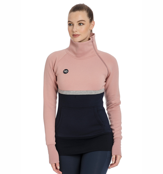 Nova High Neck Long Sleeve Pullover