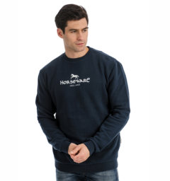 Horseware Signature Crew Neck Sweatshirt mens front