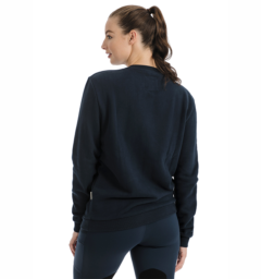 Horseware Signature Crew Neck Sweatshirt ladies back