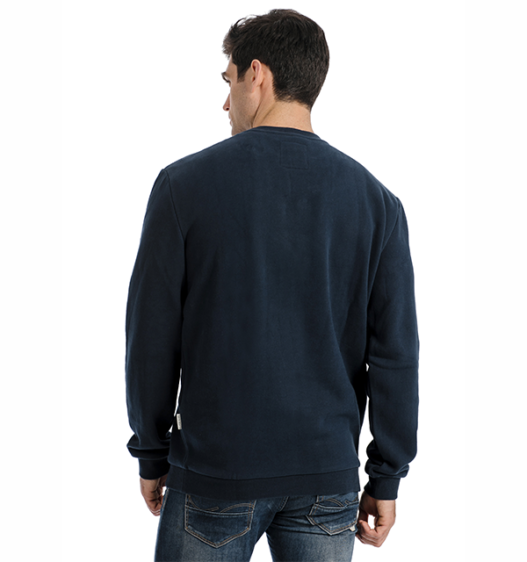 Signature Cotton Crew Neck Sweatshirt