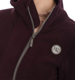 Full zip fleece fig zipper