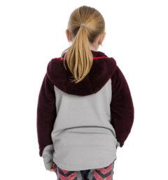 Kids Sherpa Fleece fig back