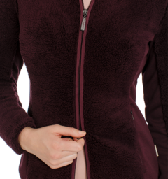 Cardi Cozy Fleece Zip Detail