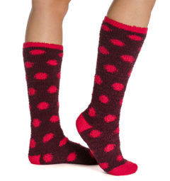 Softie Socks Fig Dot