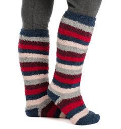 Softie Socks Red/Grey/Navy