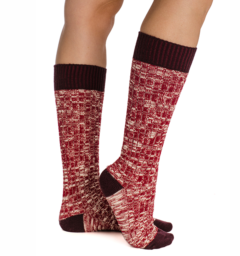 Winter Wooly Socks Fig