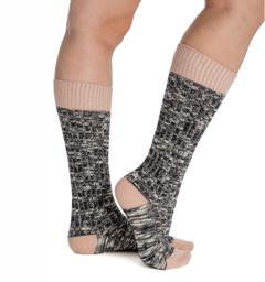 Winter Wooly Socks Misty Rose