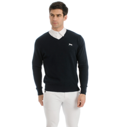 Horseware Signature V Neck Sweater mens