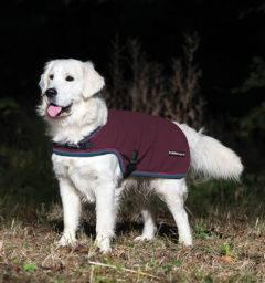 Rambo® Waterproof Fleece Dog Blanket Burgundy