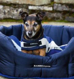 Rambo® Deluxe Dog Blanket Whitney Navy