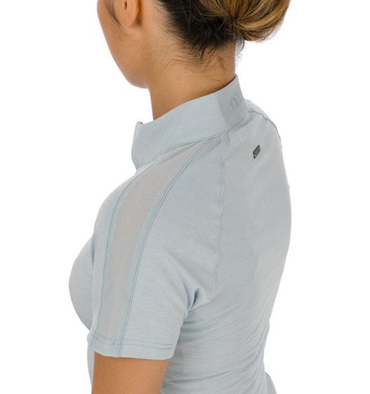 CleanCool Half Zip Top Short Sleeve