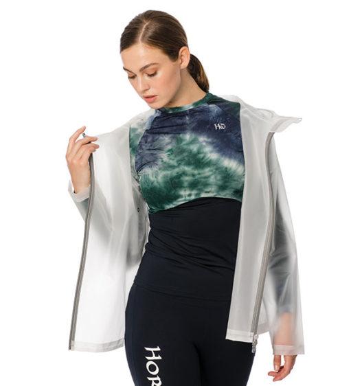 Transparent Waterproof Rain Jacket