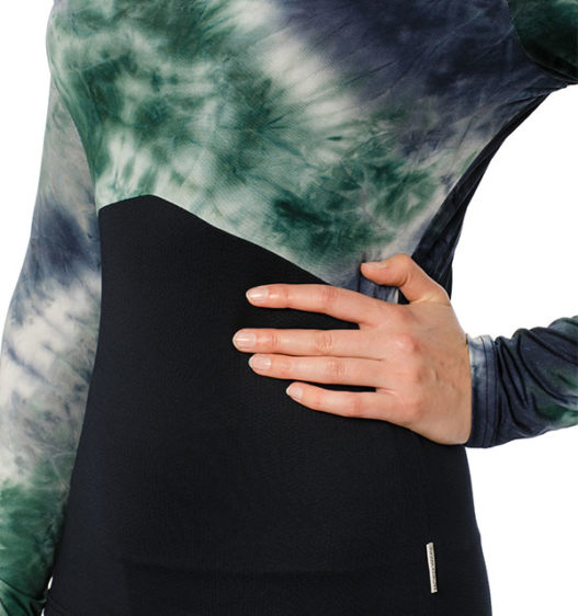 Jade Crew Neck Technical Base Layer