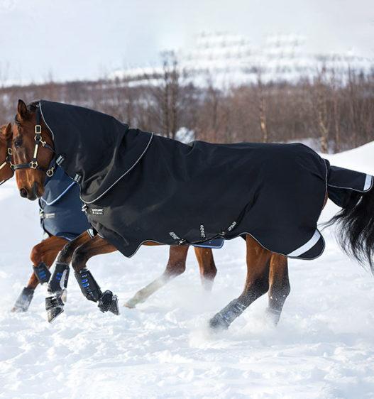 Amigo Super Bravo Plus 250g Horse Turnout Black AAWPK2-KKW0