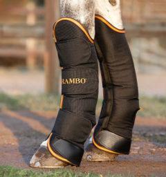DDAT4A-KSMN Rambo-Travel-Boots-Black-Orange